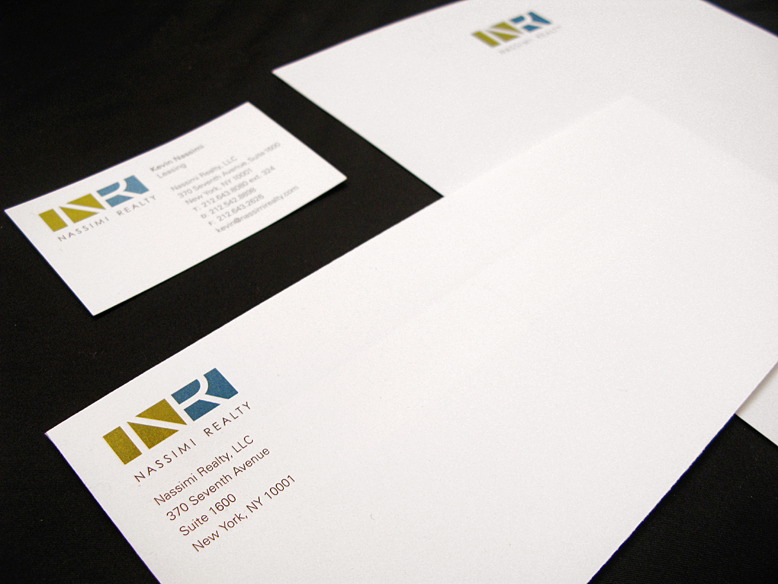 Nassimi Realty stationery