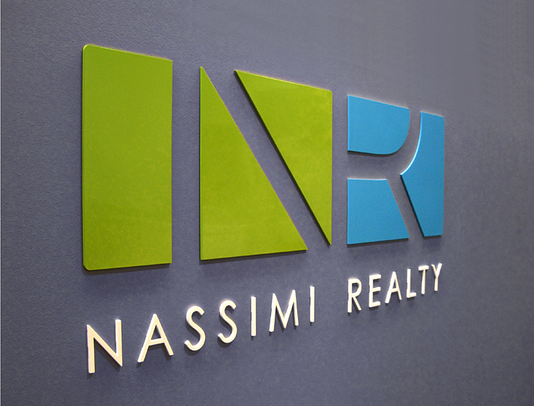 Nassimi Realty office sign
