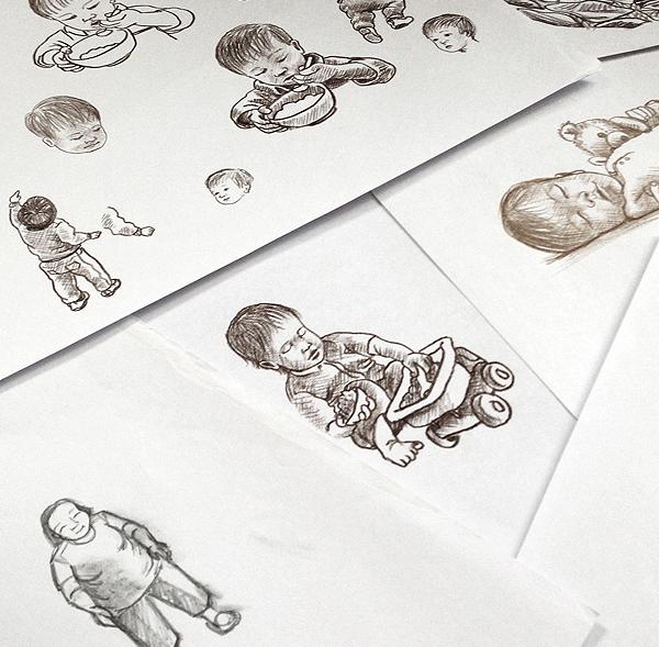 Cheung Chau sketches