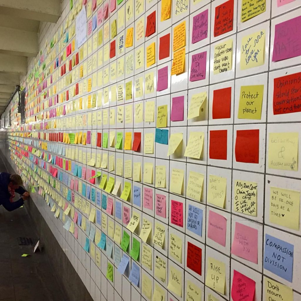 Subway Therapy, by Levee at 14th Street